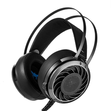 Combaterwing M170 USB Stereo Bass Gaming Headset Over-Ear Pro 3.5mm USB PCGamer Headphone With LED Lights For Laptops PS4 Phone