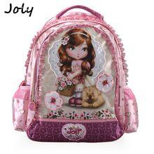 JOLY 2020กระเป๋าโรงเรียนหญิงกระเป๋าเป้สะพายหลังเด็กประถมBookbagเจ้าหญิงการ์ตูนMochila Infantil Sac A Dos Enfant