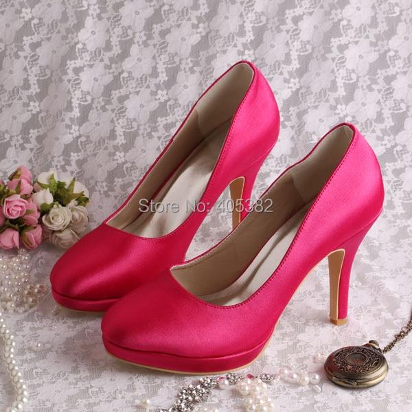 Custom Colors Wedding Shoes Accessory Wedding Shoes Wedding: 20 Colors Drop Shipping Discount Custom Hot Pink Women