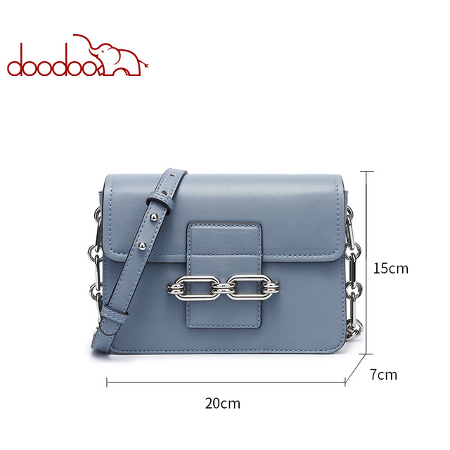 Doodoo High Quality Small Ladies Messenger Bags Leather Shoulder Bags Women Crossbody Bag for Girl Luxury Brand Women Handbags
