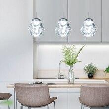 Modern Pendant Lamp Led Vintage Art Deco Kitchen Pendent Lighting Industrial Mosaic Light Cafe