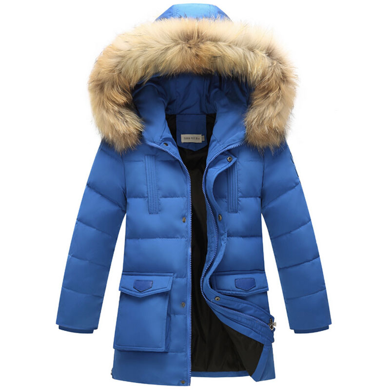 Kids Clothes Baby Boys Winter Down Coat Children Warm Jacket Toddler Boy Snowsuit Solid Outerwear Thicken Hooded Clothing 8-16Y children winter coats jacket baby boys warm outerwear thickening outdoors kids snow proof coat parkas cotton padded clothes