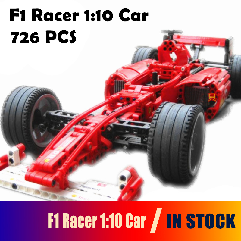 3334 City racing car f1 1:10 Model building kits compatible with lego blocks Educational building toys hobbies for children loz mini diamond block world famous architecture financial center swfc shangha china city nanoblock model brick educational toys