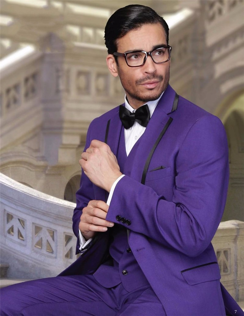 Popular Mens Purple Suit-Buy Cheap Mens Purple Suit lots from