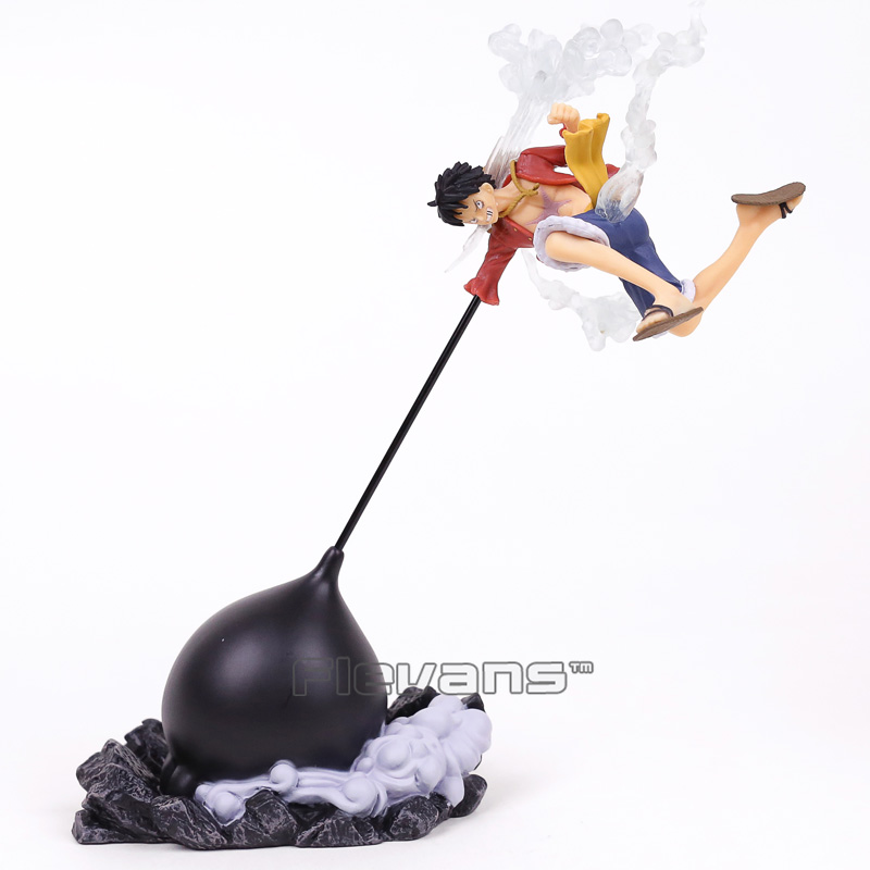 Action & Toy Figures Pvc Figure Collectible Model Toy 16cm Popular Brand Anime One Piece Banpresto Figure Colosseum Monkey D Luffy Gear Second Ver