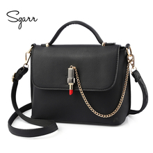 SGARR New Arrival Luxury Women Shoulder Bag Famous Brands PU Leather Women  Handbags Casual Tote Fashion Lipstick Design Handbag 159d4683dde44