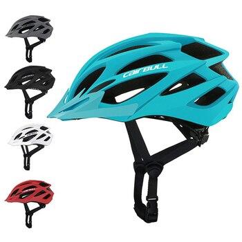 CAIRBULL X-Tracer мужские и женские велосипедные шлемы, легкие матовые велосипедные шлемы полной формы для горных и дорожных велосипедов