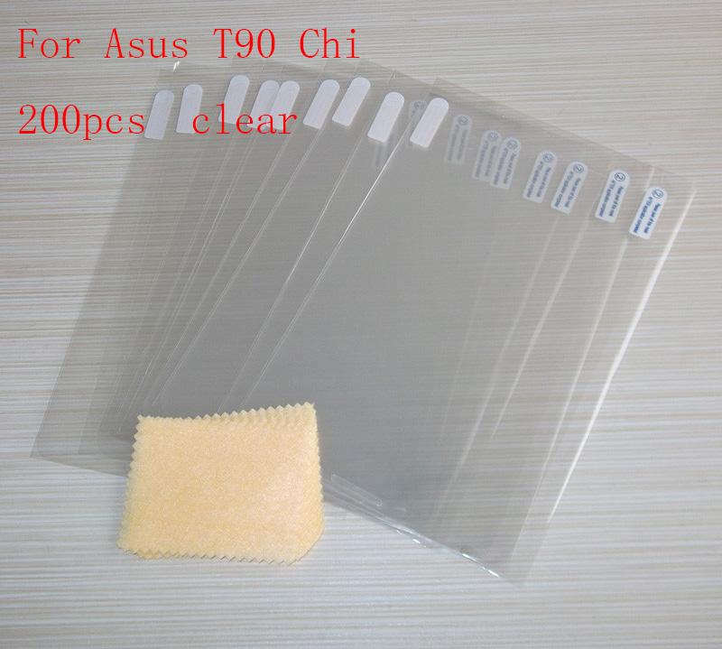 Tablet Accessories Transparent Ultra-thin Explosion-proof Anti Shatter Screen Protector Film For Asus T90 Chi Without Retail Packing 200pcs/lot A Great Variety Of Goods