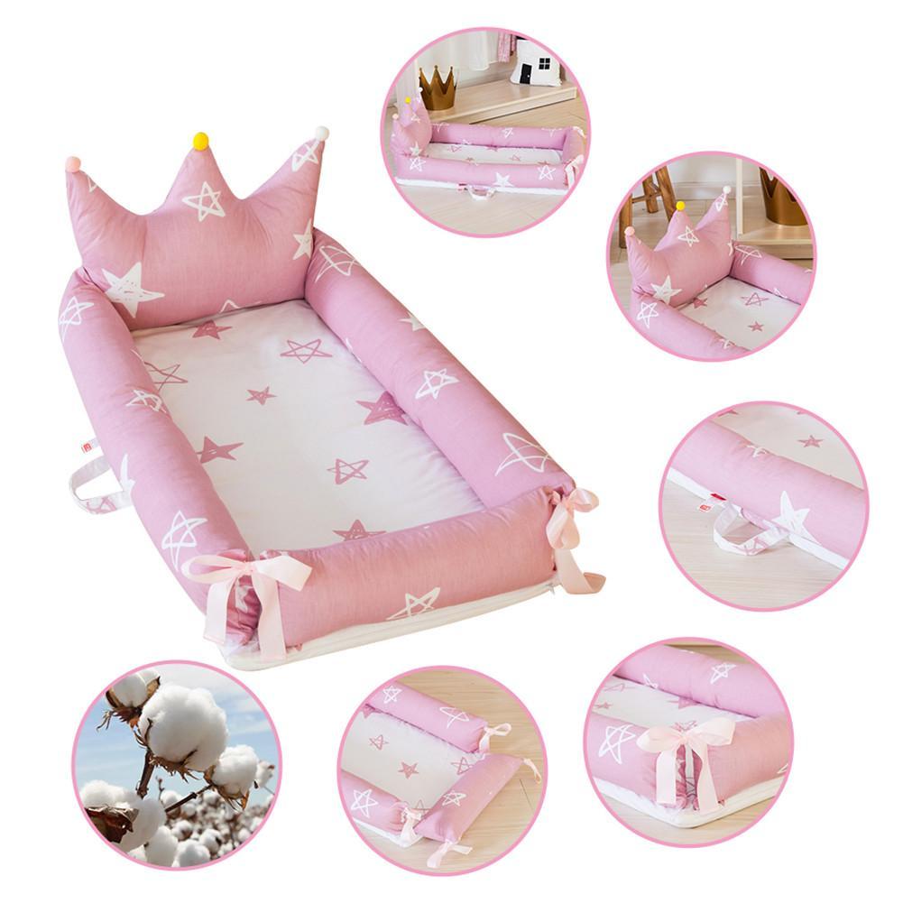 Newborn Baby Nest Bed Milk Sickness Bionic Bed Portabel Crib Cot BB Sleeping Artifact Bed Travel Bed With Bumper Baby SLEEP POD