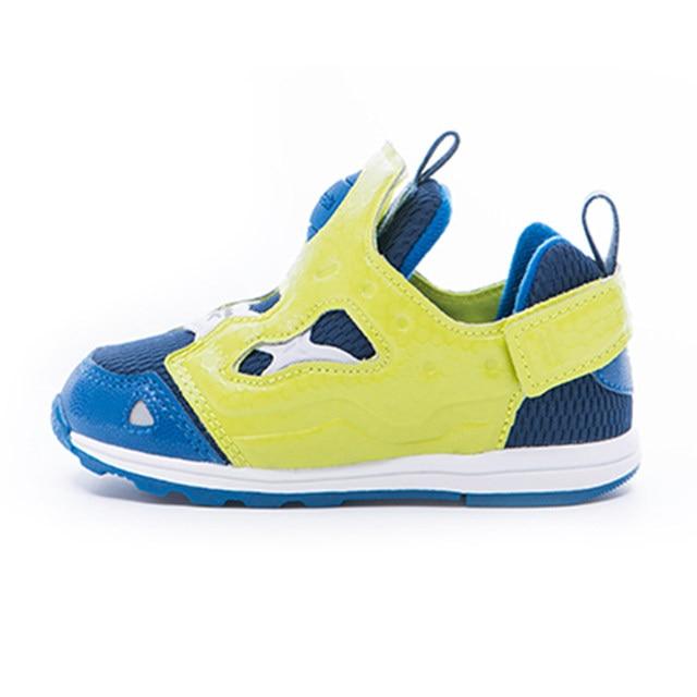 9a7fce3e20be REEBOK Luxury Brand Kids Baby Sport Running Shoes VERSA PUMP FURY SYN Boy  Casual Walker Sneakers Slip On Baby Toddler Footwear