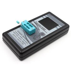 Image 5 - متعددة الأغراض الترانزستور تستر 128*160 ديود الثايرستور السعة المقاوم الحث MOSFET ESR مقياس قدرة دائرة التوالي TFT اللون العرض