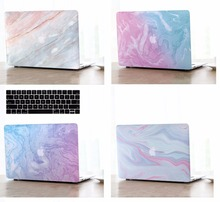 Marble Pattern Protective Hard Shell Case Keyboard Cover Skin Set For 11 12 13 15″Apple Macbook Air Pro Retina Display Touch Bar