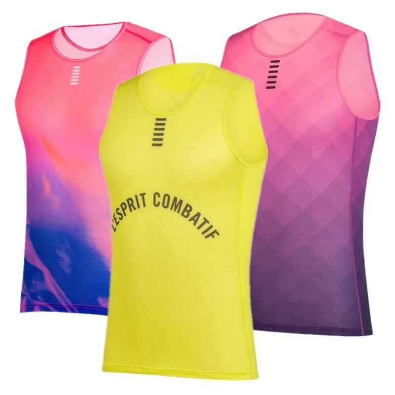 SOBIKE Men Mesh Perspiration Quick Dry Underwear Cycling Jersey Sportswear White