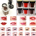 Maquiagem profissional Barato Cosméticos Maquiagem À Prova D' Água de Longa Duração Natural Marrom Vermelho Lábios Matiz Olho Sobrancelhas de Henna Tatuagem Tinta