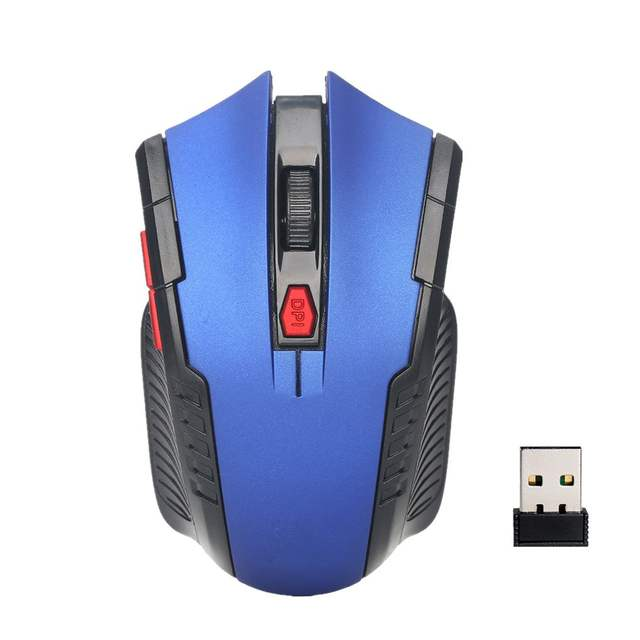 1600 DPI Simmetrical Wireless Gaming Mouse