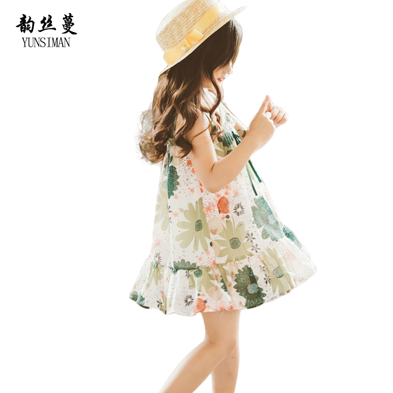 Fashion Children Big Flower Mini Dresses for Girls 6 7 8 9 10 11 12 Years Floral Print A-line Summer Girls Party Lace Dress 5C19 vintage floral print mini shift dress
