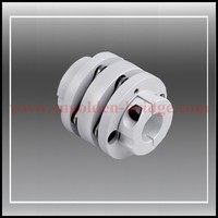 DMPC34 OD34 L21 6 Clamp Type Double Plate Disc Coupling Shaft Coupling Rotex Coupling 6 35mmx6