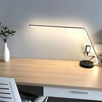 Nordic настольные лампы три регулировка скорости современный минималистский Творческий исследование touch общежитии офисные настольная лампа