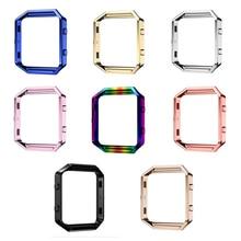 Leegoal Wearable Device For Fitbit Blaze Frame+Stainless Steel bracelet For Smart Watch