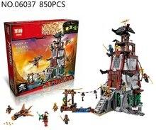 Lepin 06037 Compatible Legoe Ninjagoes Minifigures The Lighthouse Siege 70594 Building Bricks Ninja Figure Toys For Children