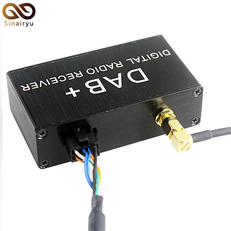 Sinairyu DAB+ DAB Box Digital Audio Broadcasting System Digital Radio Receiver Box For KLYDE Android 6.0.1 DVD Player