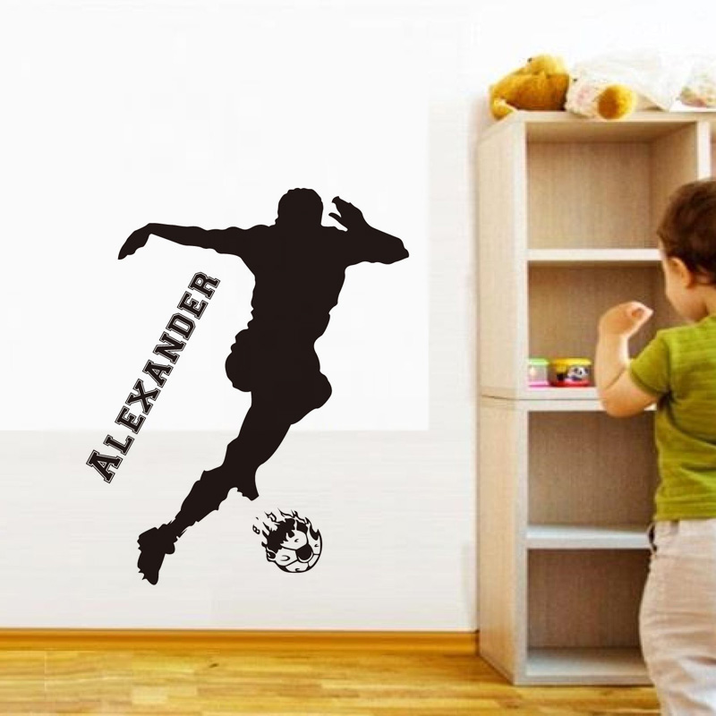 Online Get Cheap Custom Sports Decals Aliexpresscom Alibaba Group - Custom vinyl wall decal equipment