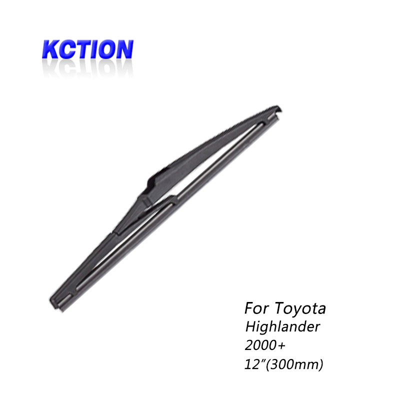 Car Windshield real Wiper Blade For Toyota Highlander 2000 Rear wiper Natural rubber Car Accessories in Windscreen Wipers from Automobiles Motorcycles
