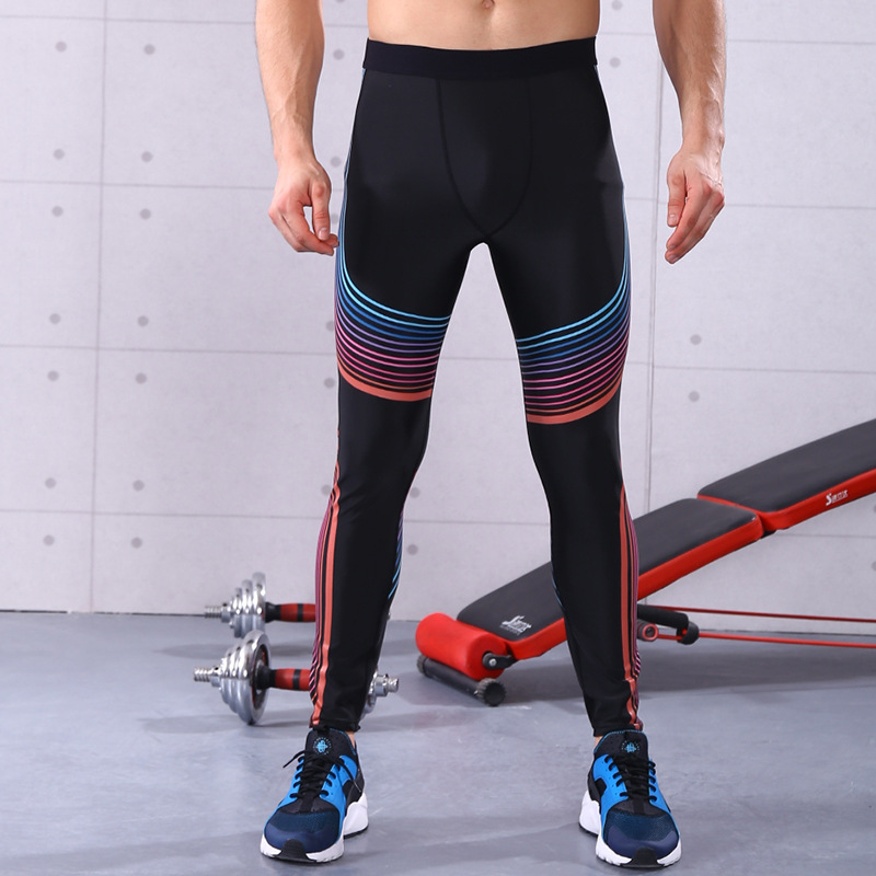 Compression Men running pants basketball Tights Yoga dance leggings trousers Soccer Football Fitness Gym Sports bottoms clothes