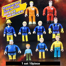 Fireman Sam Cartoon anime character collection figures toy gift