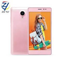 Leagoo Z5C Smartphone 5.0 inch HD 3GWCDMA Android 6.0 Quad Core 1.3GHz 1GB RAM 8GB ROM SC7731 2000mAh 5.0MP Mobile Phone