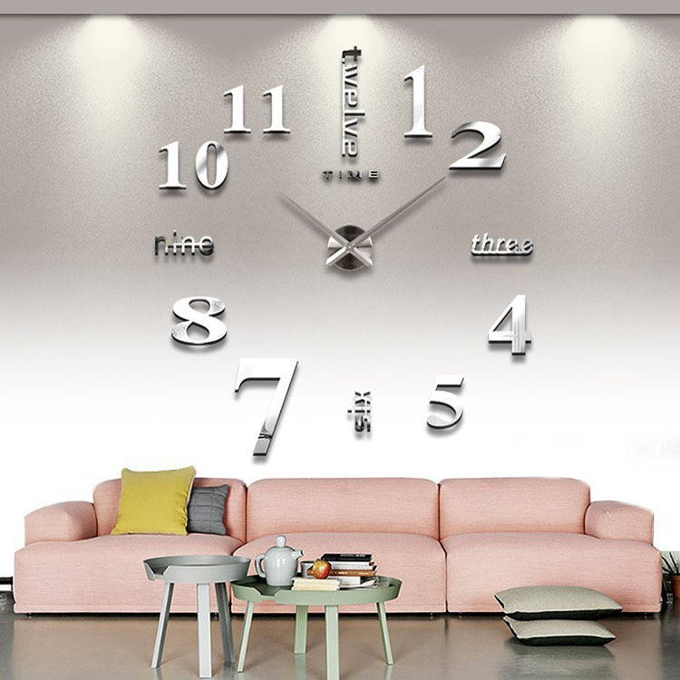 Aliexpress.com : Buy Free Shipping 3D Home Deco Quartz Wall Clock Bedroom Anrylic Style Wall Clocks On Hot Sale from Reliable clock dock suppliers on ...