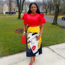 8dc000de8 2019 African skirt For Women African Clothes Africa Not Dress Print Dashiki  Ladies Clothing Ankara Africa