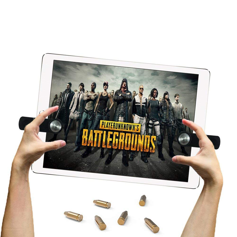 Mobile Game Controller Sensitive Shoot and Aim Trigger Fire Buttons L1R1 For PUBG Mobile for iPad Phone Tablet PC in Gamepads from Consumer Electronics