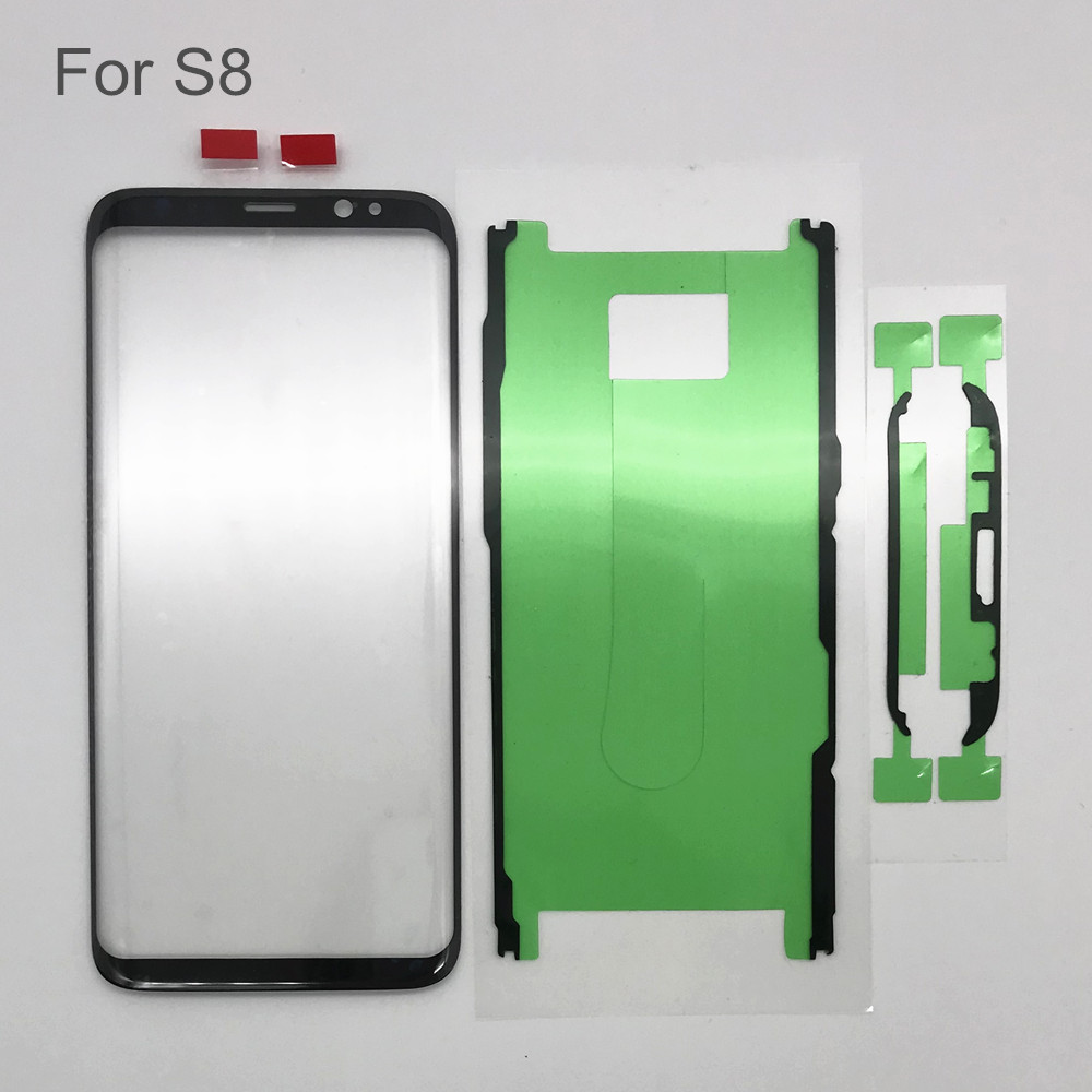 Image 2 - 1pc AYJ Glass Screen Replacement for Samsung Galaxy S8 S9 Plus LCD Display Touch Front Outer External Lens Sticker Repair Tools-in Mobile Phone Touch Panel from Cellphones & Telecommunications
