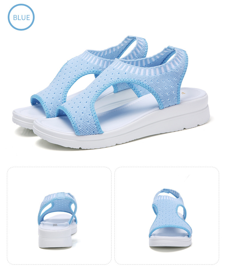 HTB1vgr5hbZnBKNjSZFGq6zt3FXaL PINSEN Women Sandals 2019 New Female Shoes Woman Summer Wedge Comfortable Sandals Ladies Slip-on Flat Sandals Women Sandalias
