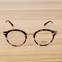 Mulheres e homens de luxo vintage design óculos moldura lente clara masculino feminino casual óculos ópticos quadro na moda legal