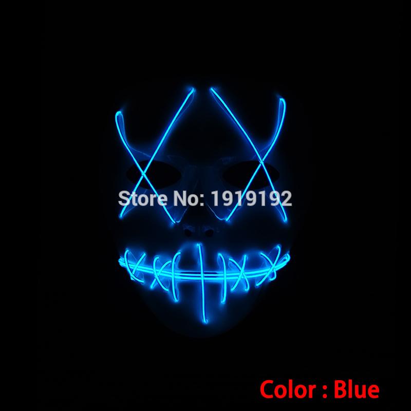 HTB1vgrLRVXXXXaEXpXXq6xXFXXXv - Mask Light Up Neon LED Mask For Halloween Party Cosplay Mask PTC 260