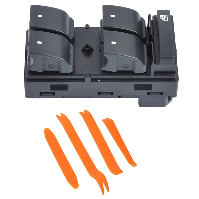 Front Left Door Power Window Switch With Removal Tool Fit For Traverse Hhr Silverado 1500 20945129
