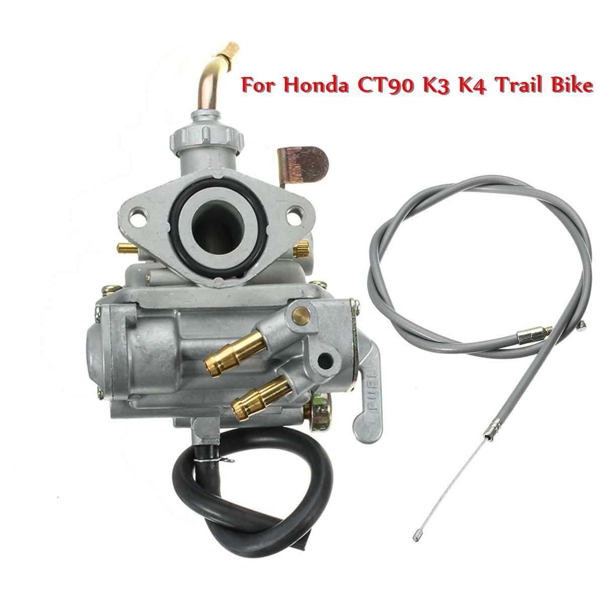 1 set carburetor throttle cable c02139 for honda ct90 k3 k4 trail bike engine new [ 1200 x 1200 Pixel ]