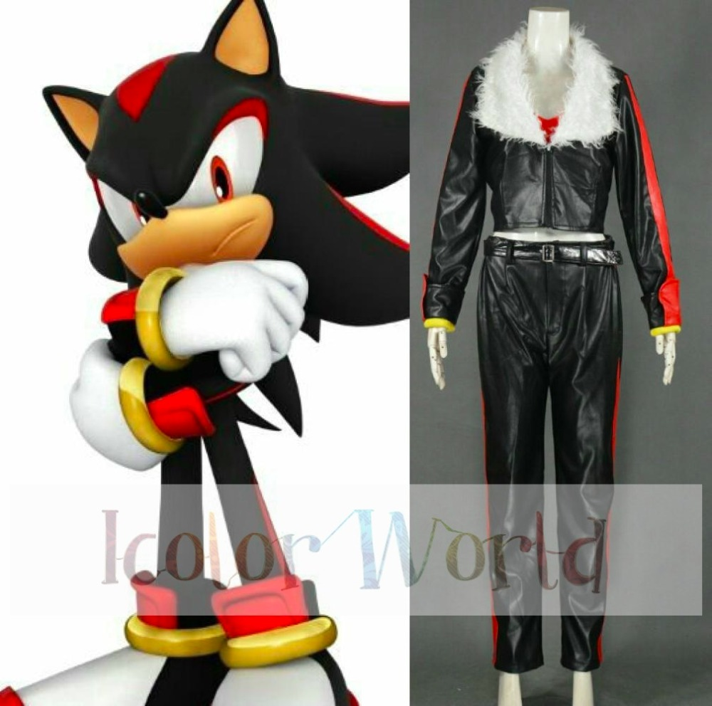 Sonic The Hedgehog Shadow de egel Cosplay Kostuum Halloween Kostuums & Sonic the Hedgehog Amy Sonic Boom TV Series Amy Rose Cosplay Shoes ...