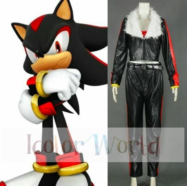 Sonic The Hedgehog Shadow the hedgehog Cosplay Costume Halloween Costumes & Sonic The Hedgehog Shadow the hedgehog Cosplay Costume Halloween ...