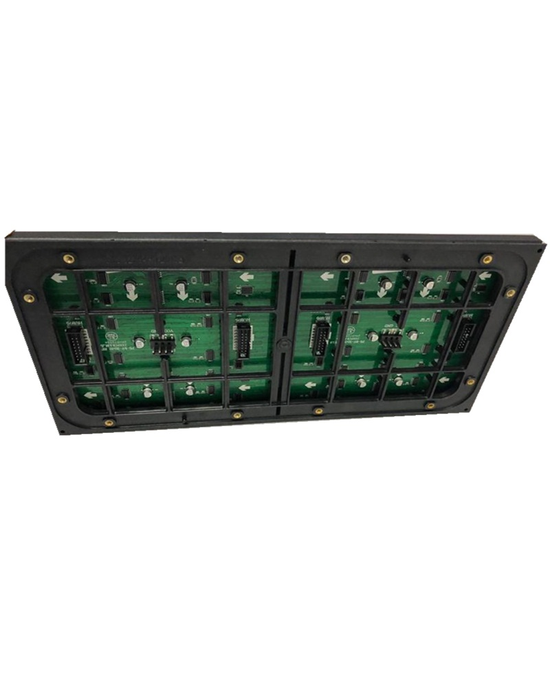 64*32 dots Outdoor waterproof p5 smd2727 1/8 scan RGB full color led module for rental or installation led matrix ali express