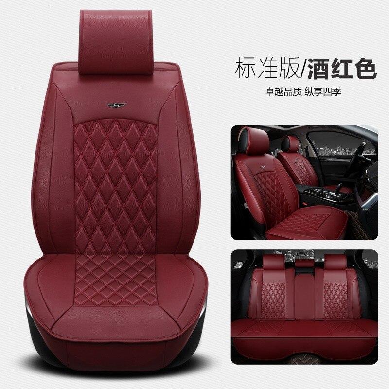Galette de chaise beishuo universel en cuir PU voiture bureau Coussin pour si/ège de voiture