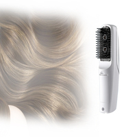 Home Use Electric Infrared Growth Laser Hair Comb Treatment Vibrating Massager Free Shipping