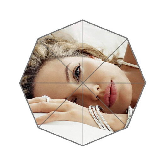 Fashion Design Umbrella Custom charming Angelina Jolie Folding Umbrella For Man And Women Free Shipping UPC-215