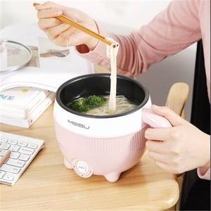 Image 2 - Casserole électrique multifonction 220V, Mini casserole pour la cuisine domestique, antiadhésive/en acier inoxydable, multi cuiseur disponible à lintérieur