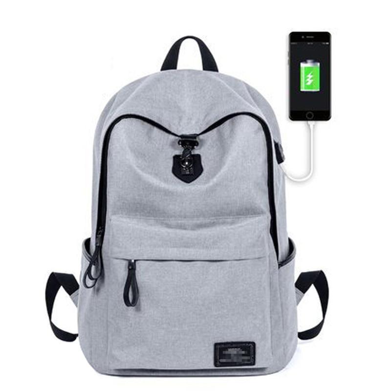 Viaggi Grande Nuovo dark Gray yin Scuola Studente dark Capacità Blue Gray Uomini 2017 Sacchetto Casual Usb Disegno I Per Zaino Di Ricarica Maschile Laptop Backpack Black 0BSaqd