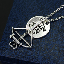 The Walking Dead Fight the Dead Fear the Living Pendant