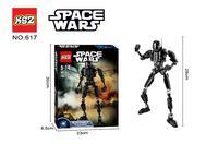 New Star Wars Force Awakens Darth Vader General Grievous Clone Commander Stormtrooper Buildable Figure Model Block