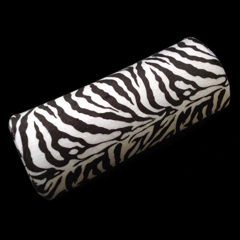 Handauflagen Weichen Zebra Streifen Hand Rest Kissen Kissen Neue Weichen Nagel Kunst Kleine Hand Ruht Kissen Kissen Halbe Spalte @ Me88